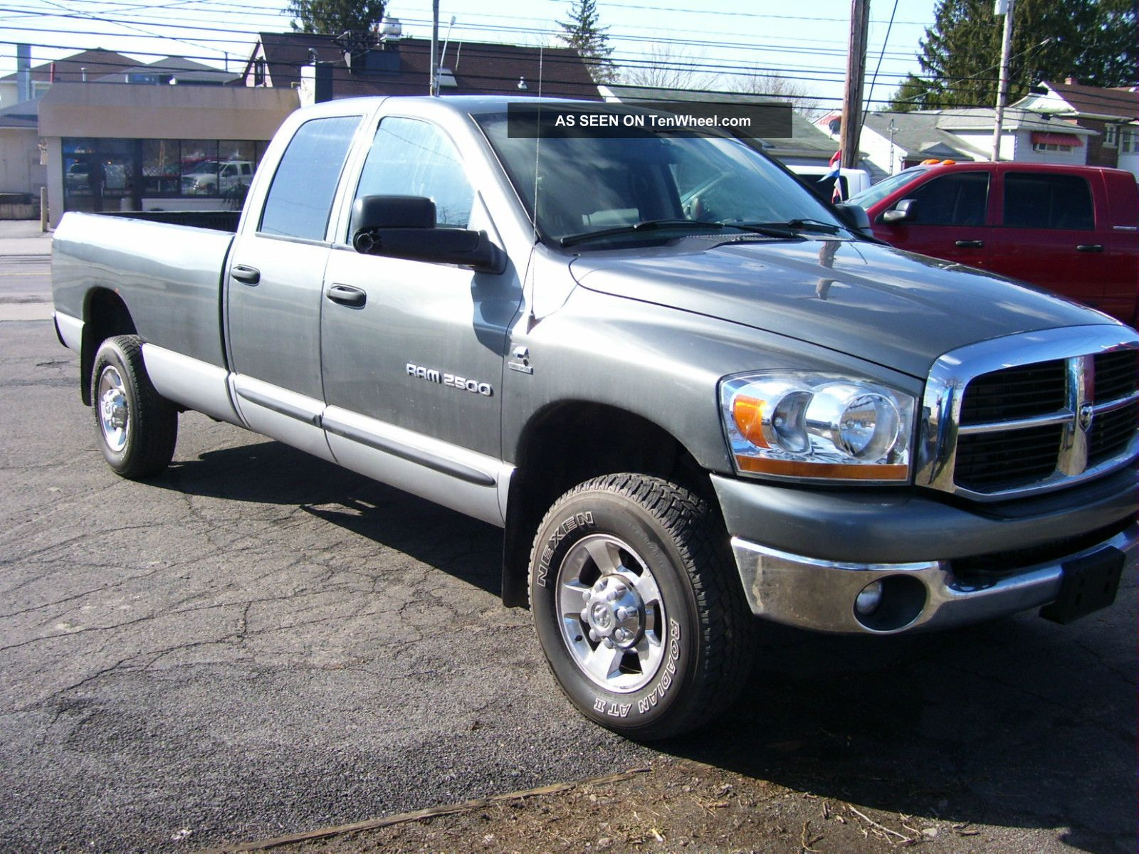 2006 dodge ram 2500 4x4 diesel 4 door. Black Bedroom Furniture Sets. Home Design Ideas