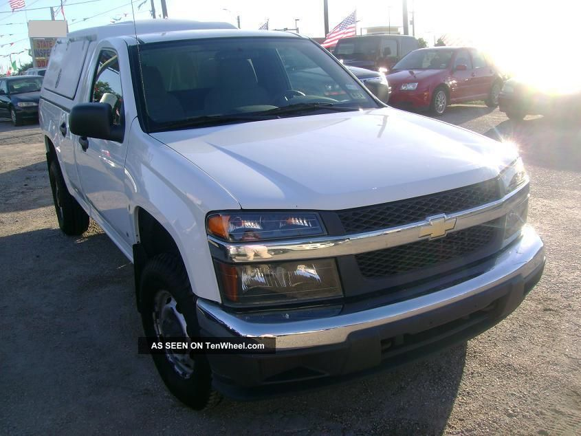 2008 Chevrolet Colorado With Bed Cap Colorado photo