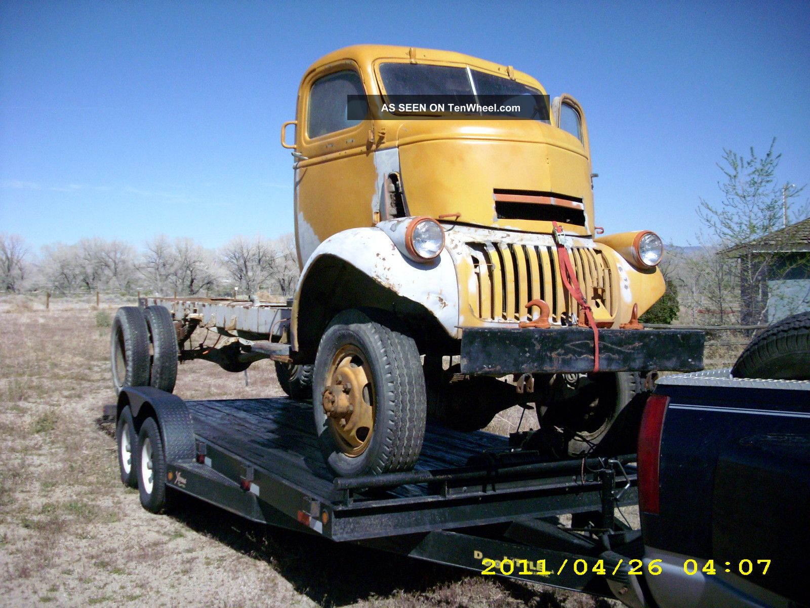 1943 Chevy K - 33 Military 11 / 2 Ton 4x4 Coe Truck Wwii