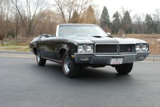 1970 Buick Gs 455 Triple Black Convertible Best In Show Winner photo
