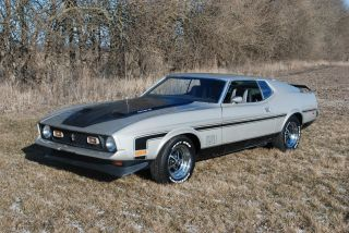 1971 Ford Mustang Mach 1 429 Cobra Jet photo