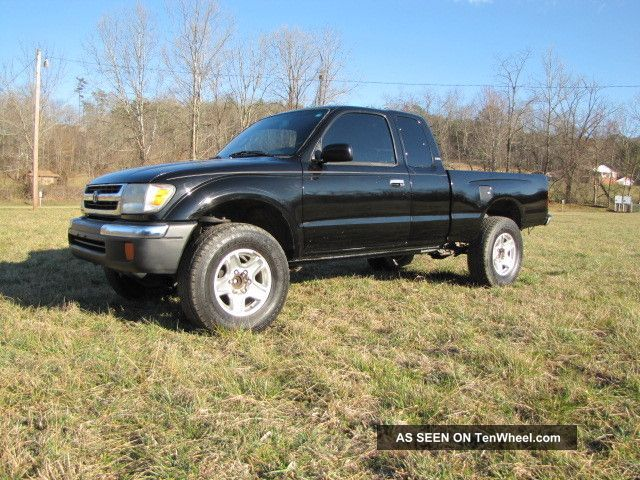 1999 Toyota Tacoma Pre - Runner 2wd Sr5 3.  4 Automatic Transmission Look Nr Tacoma photo