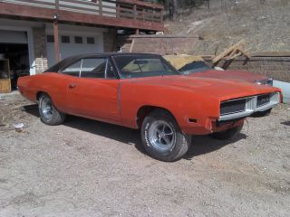 1969 Dodge Charger,  383,  4 Speed California Car photo