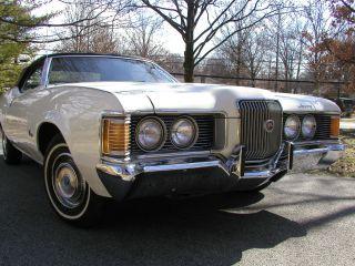 1971 Mercury Cougar Xr7 Convertible photo