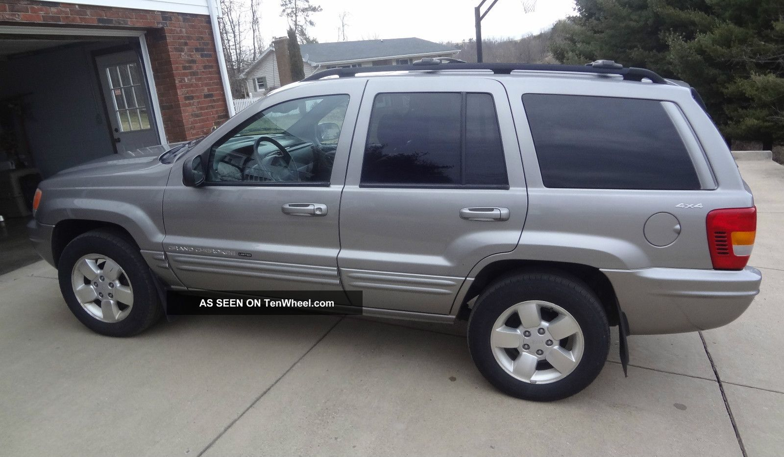 2001 Grand Cherokee Jeep Limited Silver V8 4x4 Suv Vehicle Car