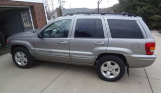 2001 Grand Cherokee Jeep Limited Silver V8 4x4 Suv Vehicle Car photo