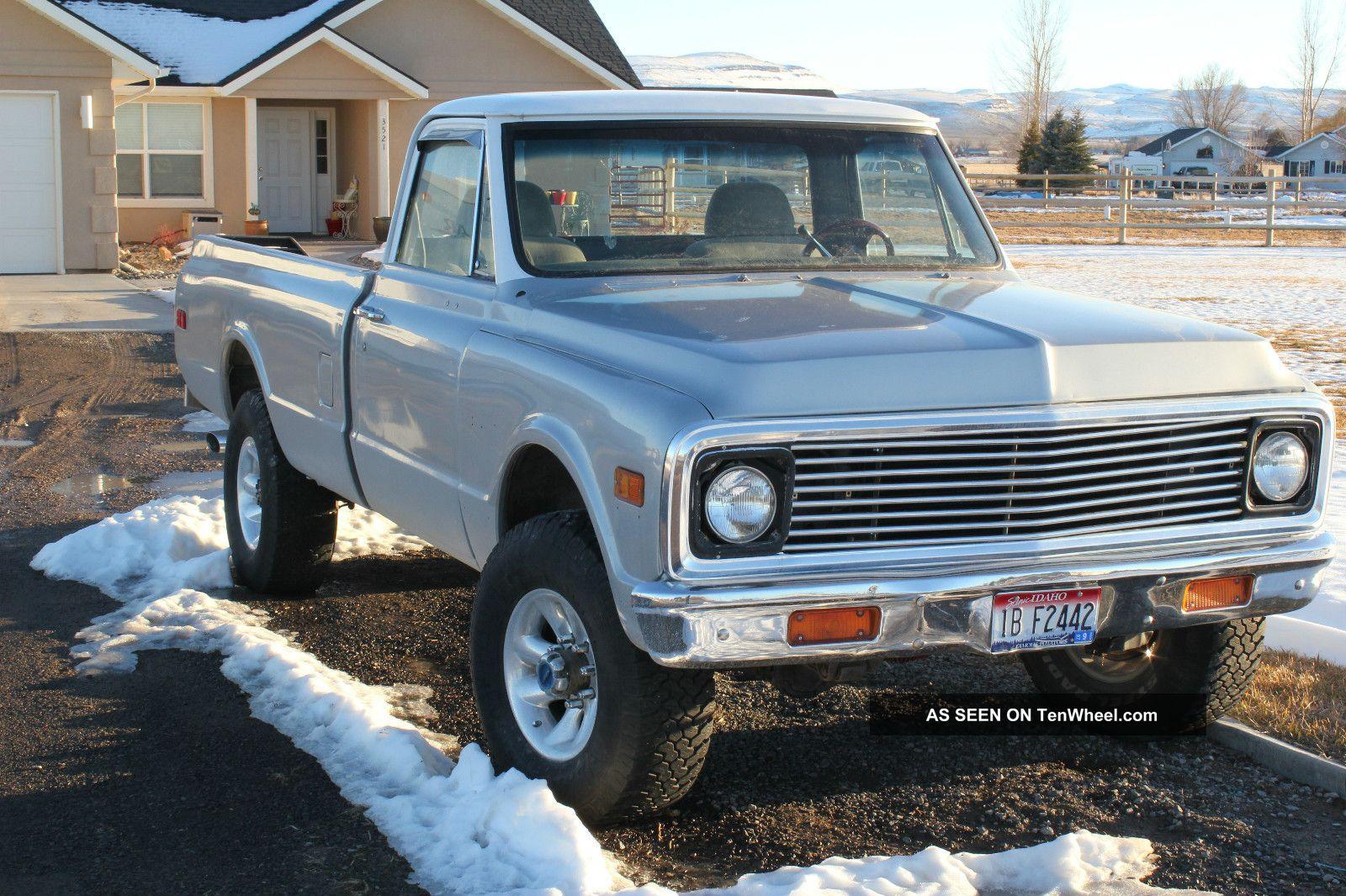 Craigslist Seattle Cars And Trucks By Owner >> 1972 Chevy Truck For Sale Craigslist   Joy Studio Design Gallery - Best Design