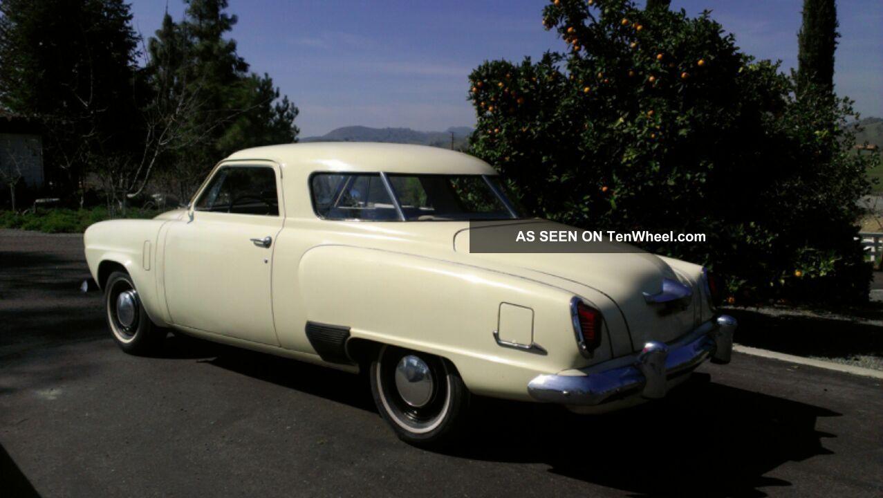 1951 Studebaker Bullet Nose Champion Starlight Coupe