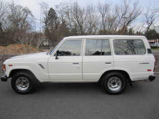1987 Toyota Land Cruiser Fj60 Base Sport Utility 4 - Door 4.  2l photo