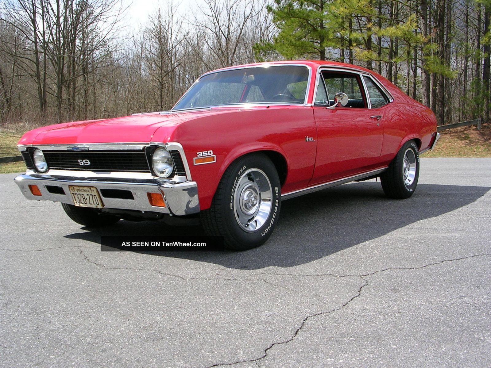 1971 Chevy Nova Ss 4sp