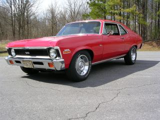 1971 Chevy Nova Ss 4sp photo
