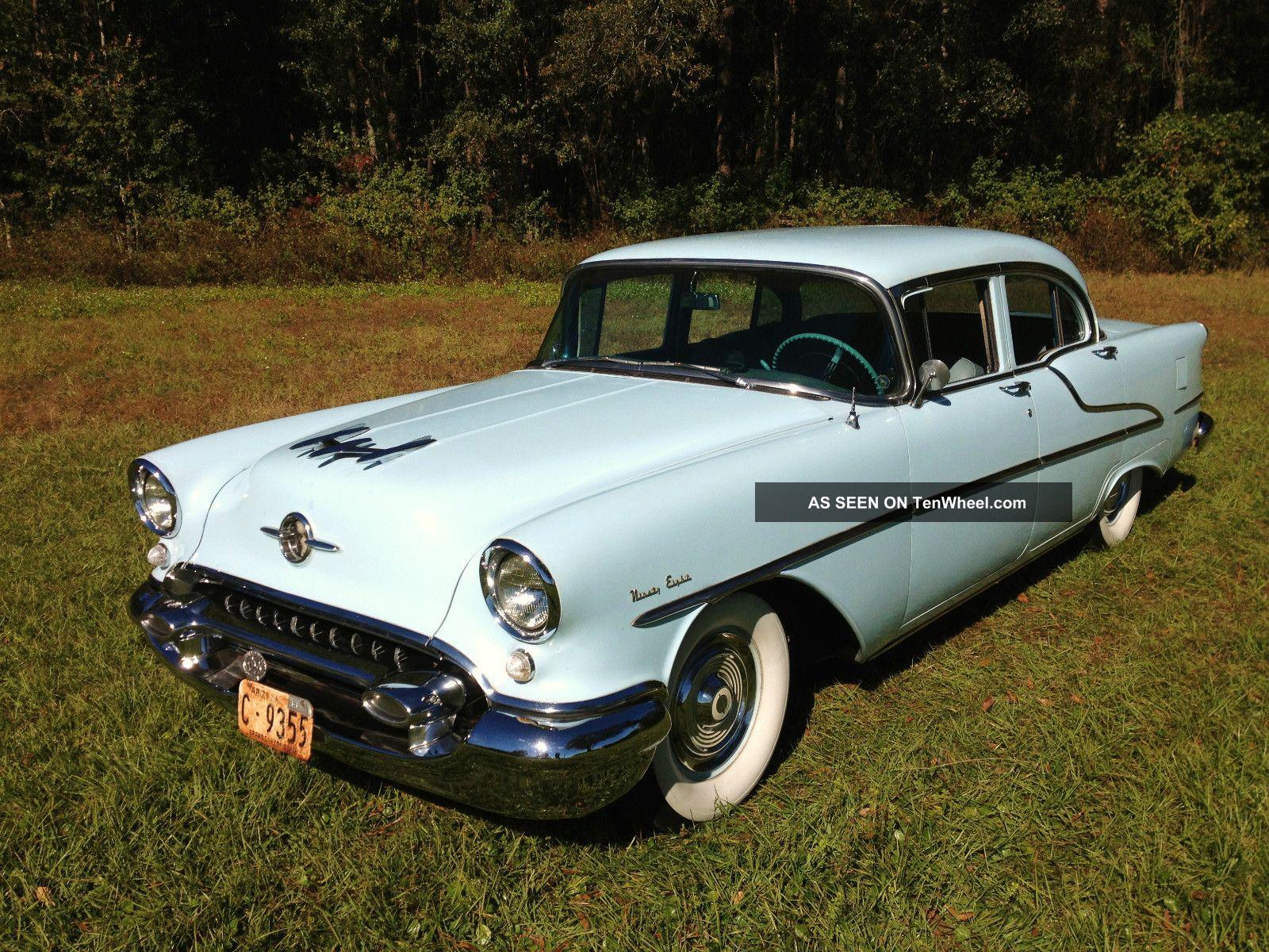 1955 Oldsmobile Survivor Show Car W / Rare Options (55 56 57) Ninety-Eight photo