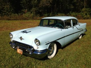 1955 Oldsmobile Survivor Show Car W / Rare Options (55 56 57) photo