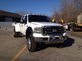 2006 F - 350 Pickup Truck Dually Crew Cab 4x4 Xlt Tow Package Diesel photo