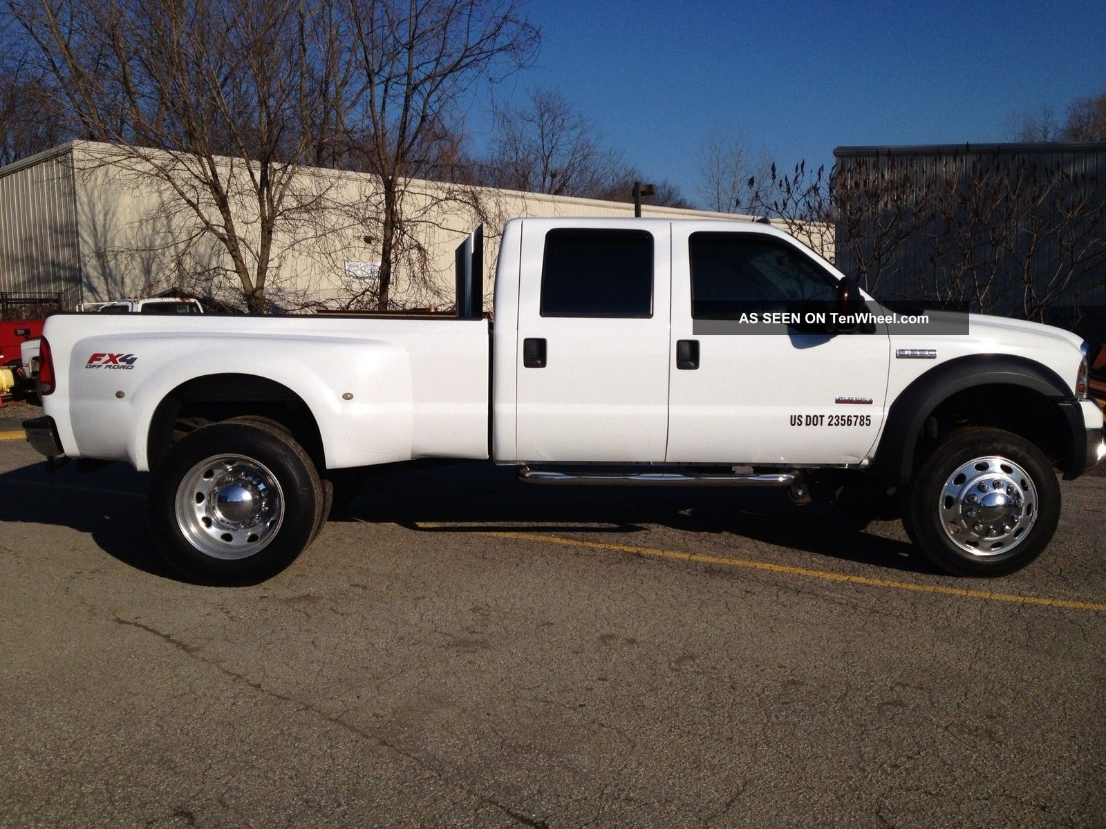2006 f 350 pickup truck dually crew cab 4x4 xlt tow package diesel. Black Bedroom Furniture Sets. Home Design Ideas