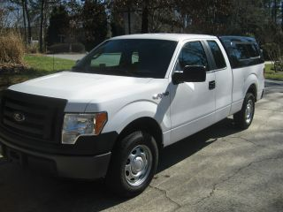 2012 Ford F - 150 Xl Extended Cab Pickup 4 - Door 3.  7l photo