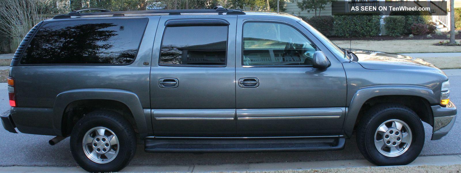 2001 Chevrolet Suburban 1500 Lt Sport Utility 4 Door 5 3l