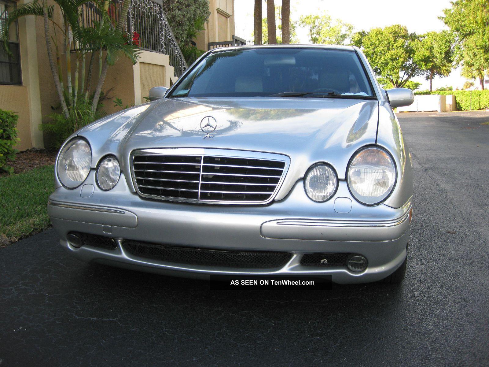 2001 Mercedes - Benz E55 Amg Base Sedan 4 - Door 5.  5l E-Class photo