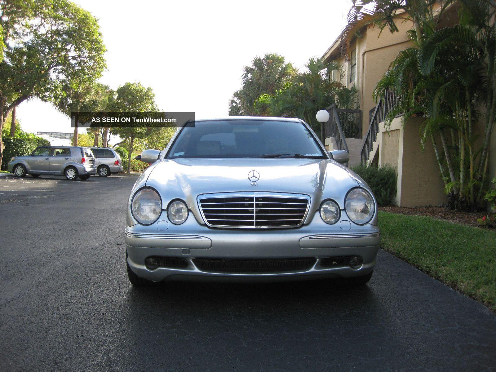 2001 mercedes benz e55 amg base sedan 4 door 5 5l for Mercedes benz e55 amg