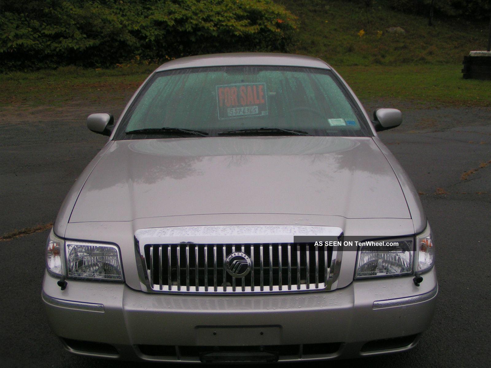 2006 Mercury Grand Marquis Gs Sedan 4 - Door 4.  6l Grand Marquis photo
