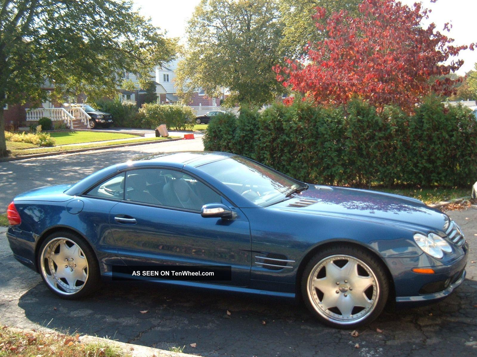 2004 Mercedes Sl500 Sl 500 Convertible Roadster Sport Amg