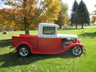 1932 Ford Pickup Truck 4.  6 Jag Rear Build 3 Window Sedan Roadster 1934 Coupe photo