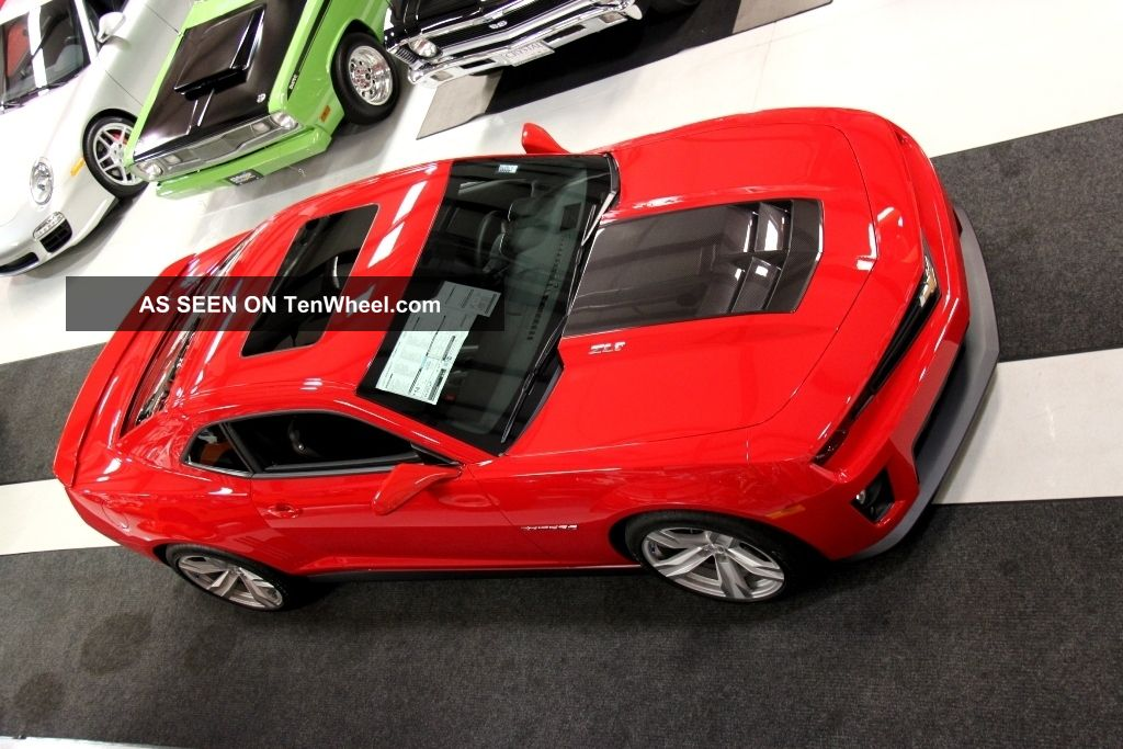 2013 Camaro Zl1 Victory Red & Black 580hp Supercharged ... 2013 Camaro Zl1 Supercharged Specs