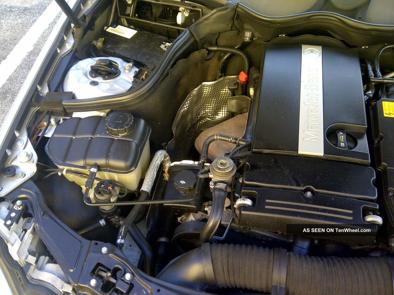 2004 mercedes benz c230 kompressor sedan 4 door 1 8l for Mercedes benz kompressor engine