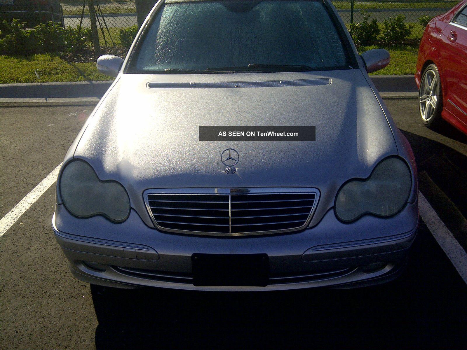2004 mercedes benz c230 kompressor sedan 4 door 1 8l for Mercedes benz c230 kompressor 2004