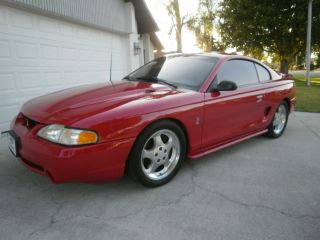 1994 Cobra Mustang,  Rio Red,  Pls See The Pics And Videos photo