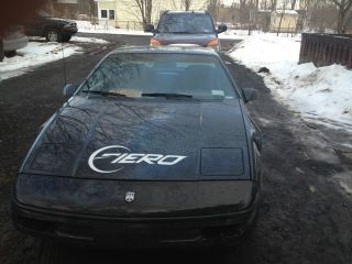 1988 Fiero 2 - Door Black Coupe 5 - Speed photo