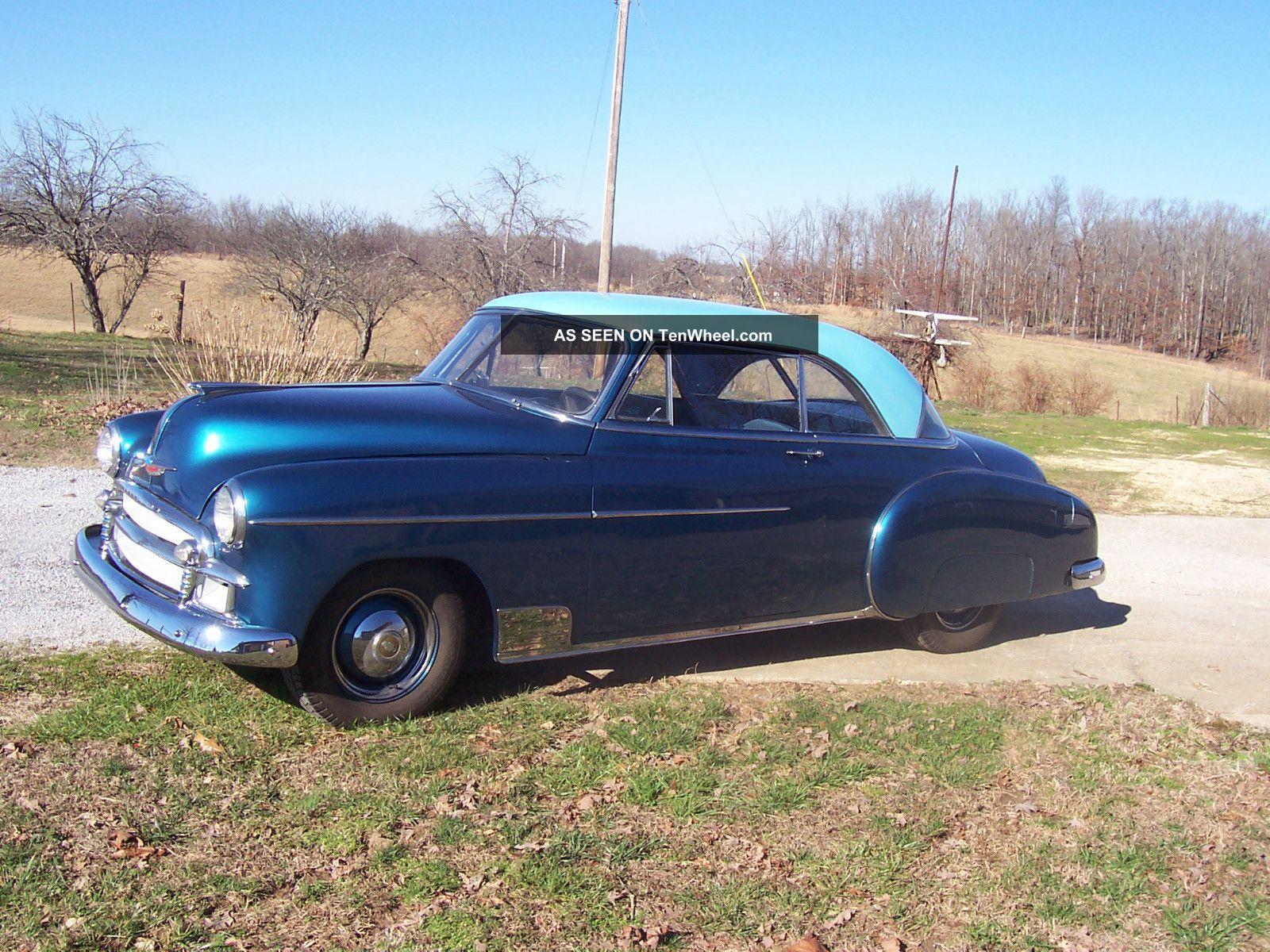 1950 Chevy Belaire Ht.  Blue Exterior Blue Interior Bel Air/150/210 photo