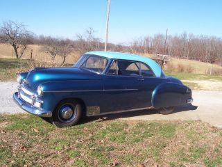 1950 Chevy Belaire Ht.  Blue Exterior Blue Interior photo