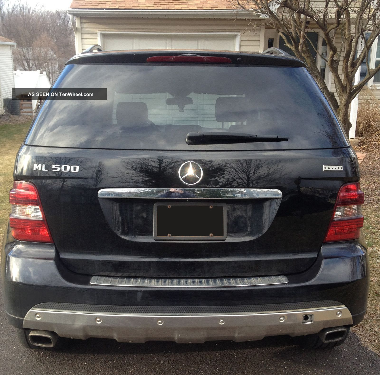 Benz Ml500 Base Sport Utility 4