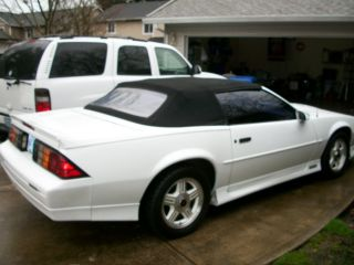 1991 Chevrolet Camaro Z28 Convertible photo