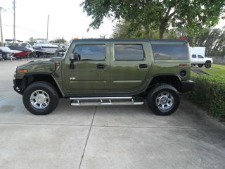 2003 Hummer H2 Base Sport Utility 4 - Door 6.  0l Very photo