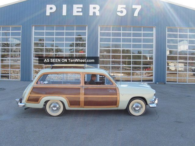 1951ford Country Squire Woody Wagon Other photo