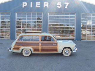 1951ford Country Squire Woody Wagon photo