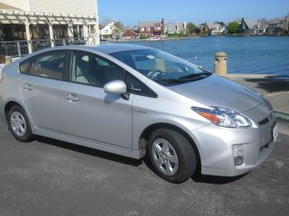 2010 Toyota Prius Ii Silver photo