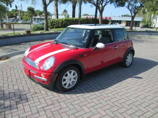 2003 Mini Cooper Hatchback 5 Speed 89k Panoramic Roof Fla Car photo