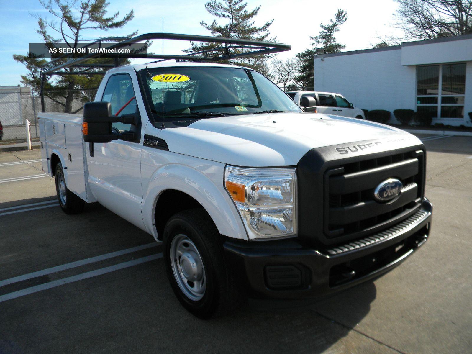 2011 ford f350 service truck reg cab 4x2 in va. Black Bedroom Furniture Sets. Home Design Ideas