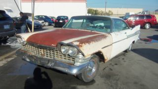 1959 Plymouth Fury Very And Complete With Very Little Rust photo