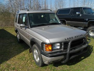 2000 Land Rover Discovery Series Ii Sport Utility 4 - Door 4.  0l photo