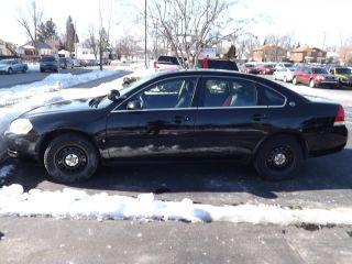 2007 Chevrolet Impala Police Sedan 4 - Door 3.  9l photo