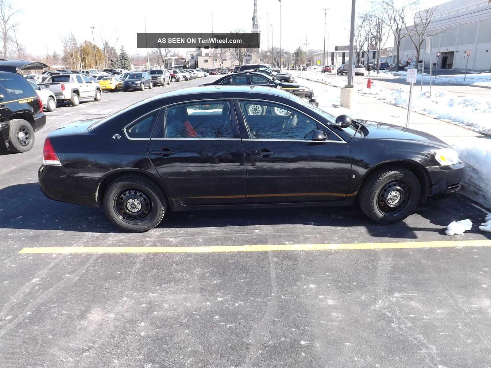 2007 chevrolet impala police sedan 4 door 3 9l impala photo 2