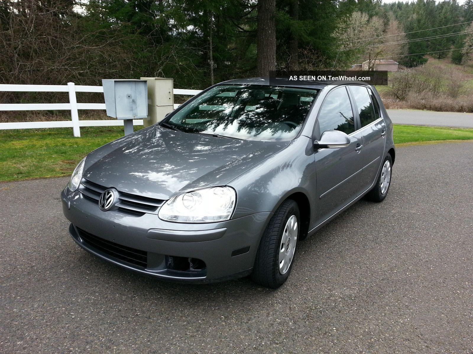 2008 Volkswagen Rabbit S Hatchback 4 Door 2 5l In Very