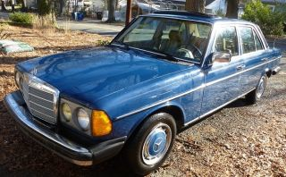 1983 Mercedes 240d,  Manual 4 Speed photo