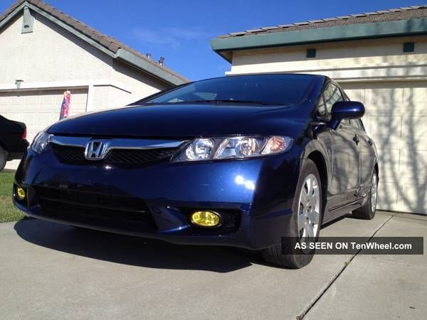 2011 Honda Civic Lx Great On Gas