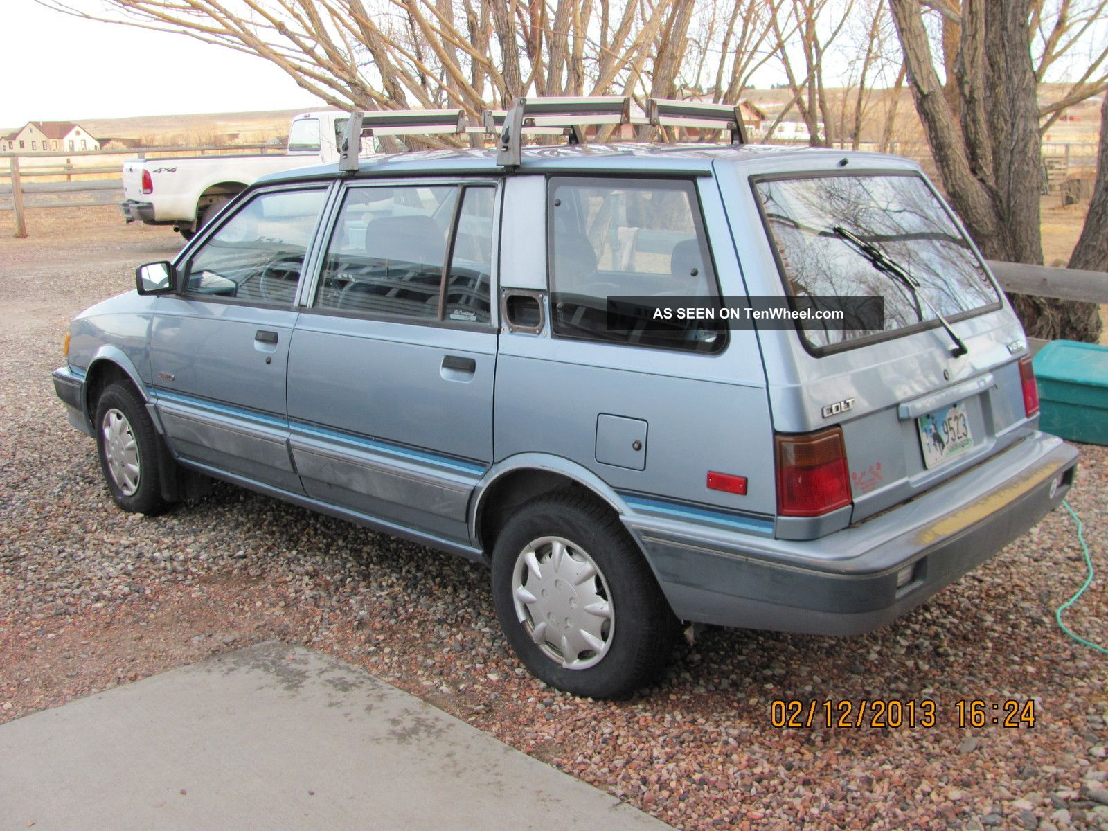 Dodge Colt Vista Wagon Wd Four Wheel Drive Lgw on Dodge Dakota Convertible