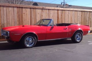1967 Firebird Convertible photo